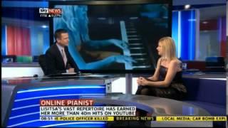 Valentina Lisitsa - Pre Royal Albert Hall debut Sky News interview