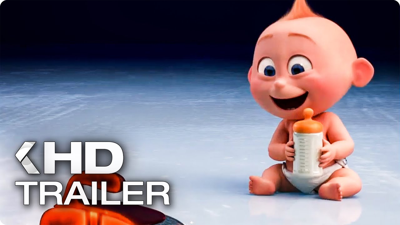 """INCREDIBLES 2 """"Angry Jack Jack"""" Clip & Trailer (2018)"""