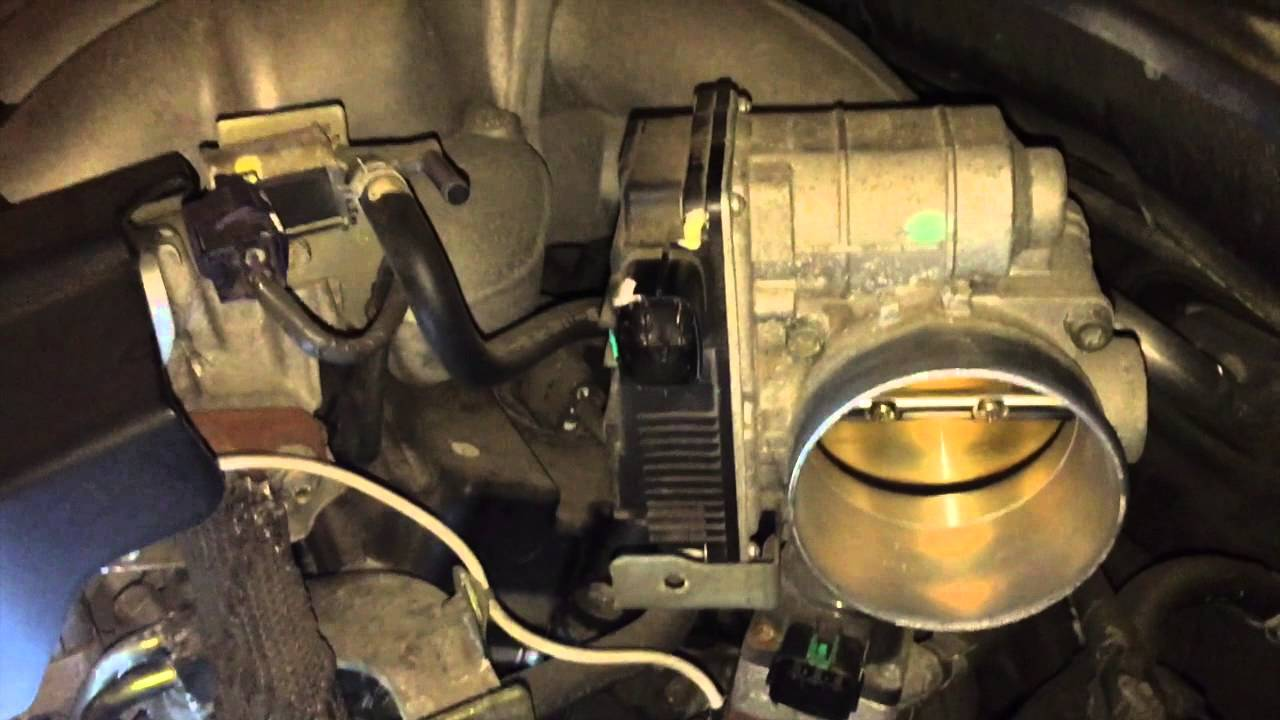 2005 Altima Camshaft Sensor Replacement Youtube