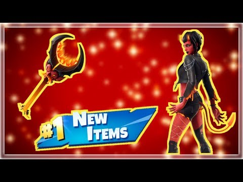 NEW Devil Girl Skin & Pickaxe! Best Skin Ever! - Fortnite Live Stream!