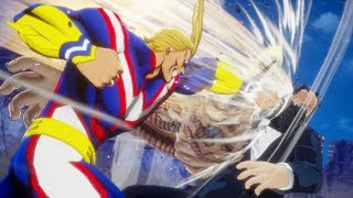 All Might vs All for One Final Boss Battle! United States of Smash! | My Hero Academia One's Justice
