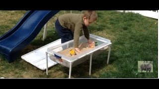 Daddy Chores: How To Make A Kids Sand And Water Table.