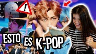 REACCIONANDO AL K-POP! *no me lo esperaba!!😱*