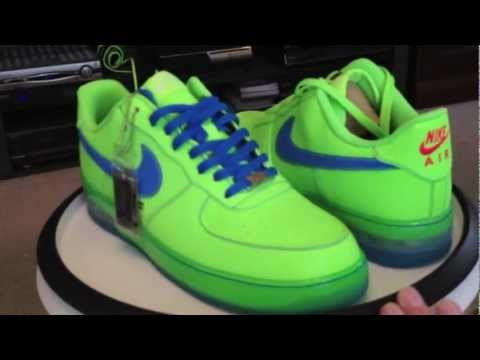NIKE ID @NikeID Air Force 1 Low Ostrich Watermelon Eat Me Green Red colorway @mmmt88