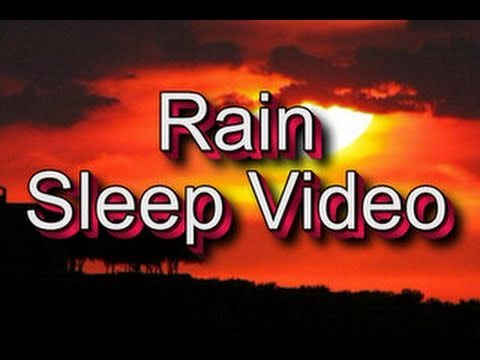 """Sleep Video"" 60mins of ""Lite Rain"" Relaxation Meditation"