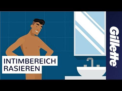 Intimrasur für Männer mit Gillette BODY & Gillette STYLER | Tutorial