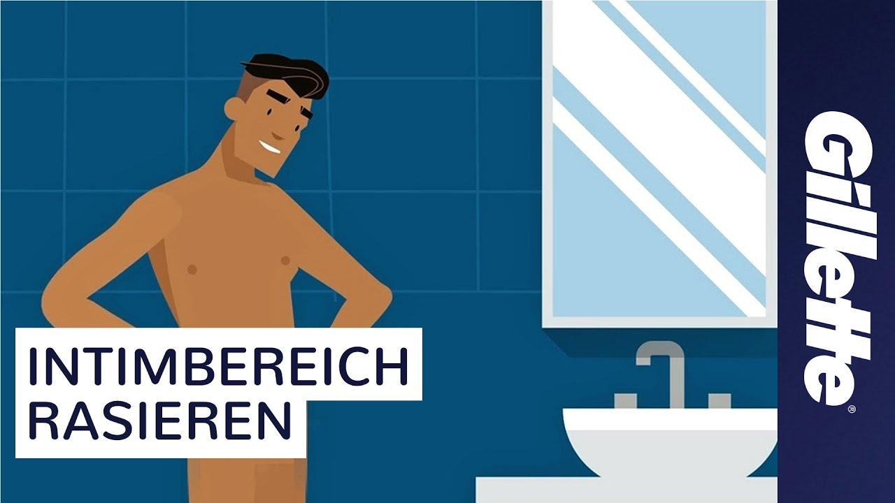 Intimrasur Für Männer Mit Gillette BODY & Gillette STYLER Tutorial