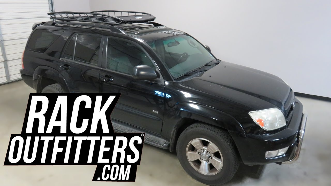 Toyota Roof Rack >> Toyota 4 Runner with Thule Canyon XT and Extension Roof ...