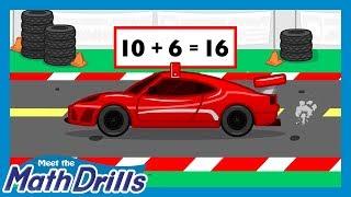 Meet the Math Drills Addition - 10's