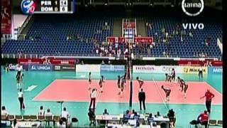Mundial Juvenil de Voley 2013 - Peru vs R Dominicana (2:3)
