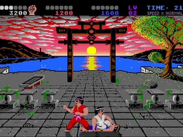 Jouez à International Karate + sur Commodore Amiga 1200