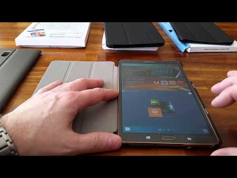 Review of cases for Galaxy Tab S 8.4