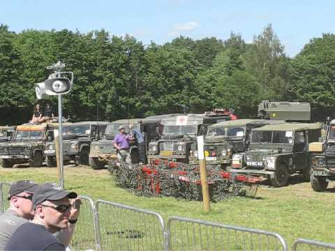 War and Peace 2012 Landrover event (sunday 22-7-12)