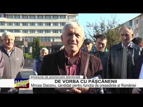 MIRCEA DIACONU, DE VORBA CU PASCANENII