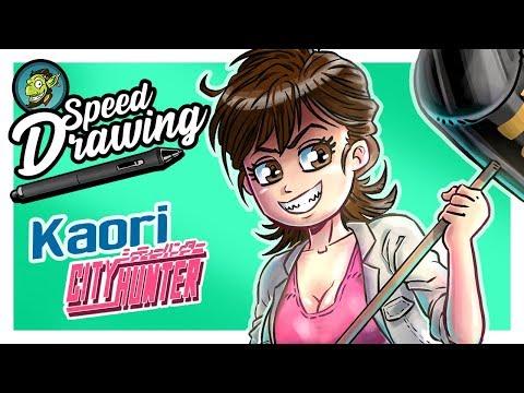 Kaori SpeedPaint ! [City Hunter / Nicky Larson]