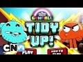 Uimitoarea lume a lui Gumball | Tidy Up! (joc) | Cartoon Network