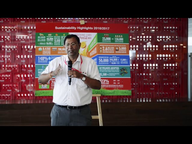Partnering with farmers to shape a better tomorrow though sustainable agriculture : T Krishnakumar