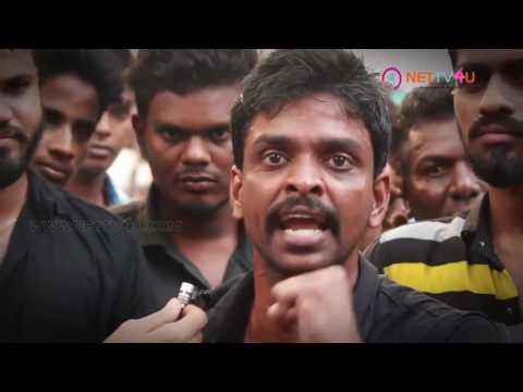 STR SILENT PROTEST TO SUPPORT JALLIKATTU   #TamilanDa