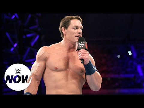 John Cena joins exclusive list outside the ring: WWE Now thumbnail