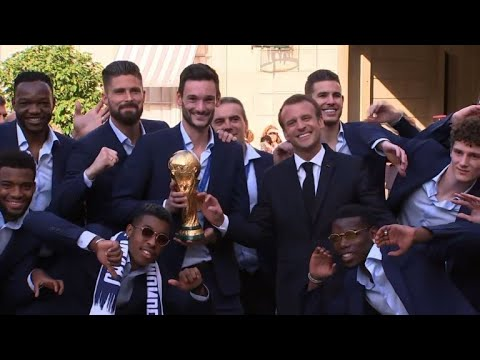 France gives World Cup winners a heroes