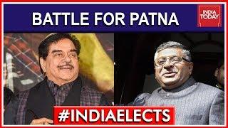 Shatrugan Sinha Vs Ravi Shankar Prasad Battle For Patna | 7th Phase Lok Sabha Polls 2019
