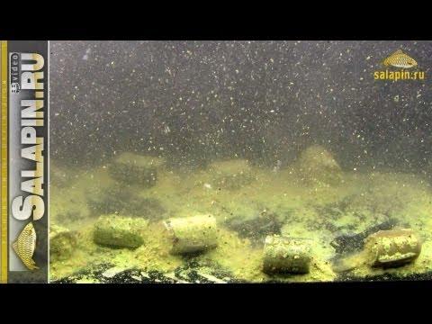 Фидерные кормушки, взгляд из-под воды salapinru