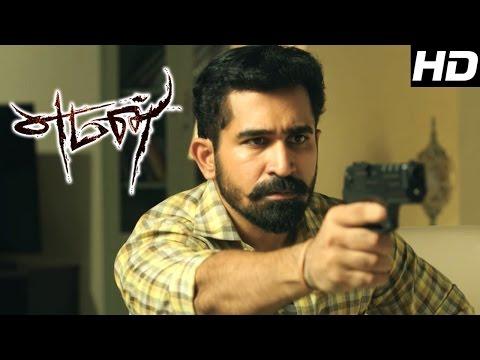 Yaman   Yaman Tamil Movie Scenes   Vijay Antony Threatens Arul D Sekar   Vijay Antony Mass Scenes