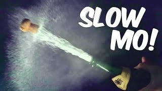 Opening Champagne in Slow Motion!! | Slow Mo Lab