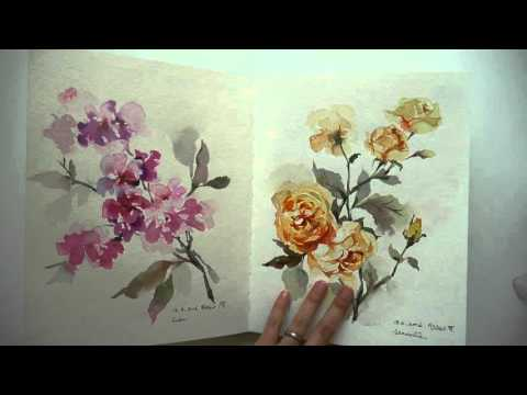My thoughts on Strathmore watercolor journal