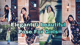 Simple \u0026 Beautiful Photos For Girls In Suits Girls Pose In  Ndian Wear MY Clicks  Nstagram