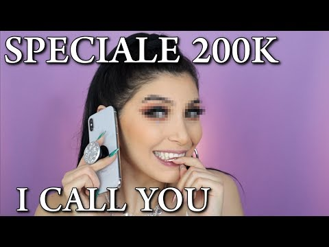 I CALL YOU  *Decidete Il Mio Trucco*  + GIVEAWAY SPECIALE 200K
