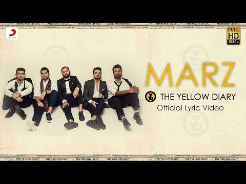 Marz - Official Lyric Video | The Yellow Diary |  Latest Hits 2018