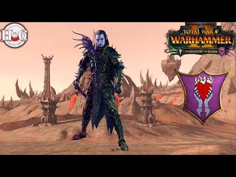 MALUS DARK BLADE - Total War Warhammer 2 - Shadow and Blade EARLY ACCESS GAMEPLAY |
