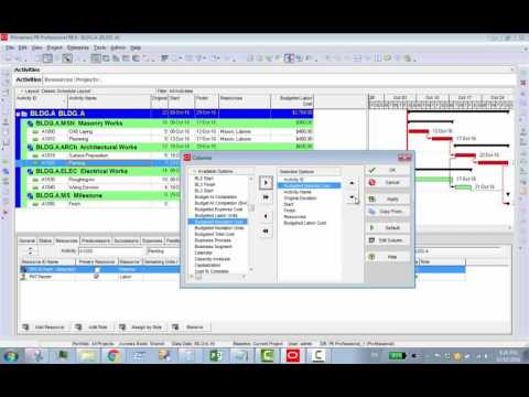 How To Make And Assign Resources: Labors, Materials, Equipment And Expenses In Primavera P6