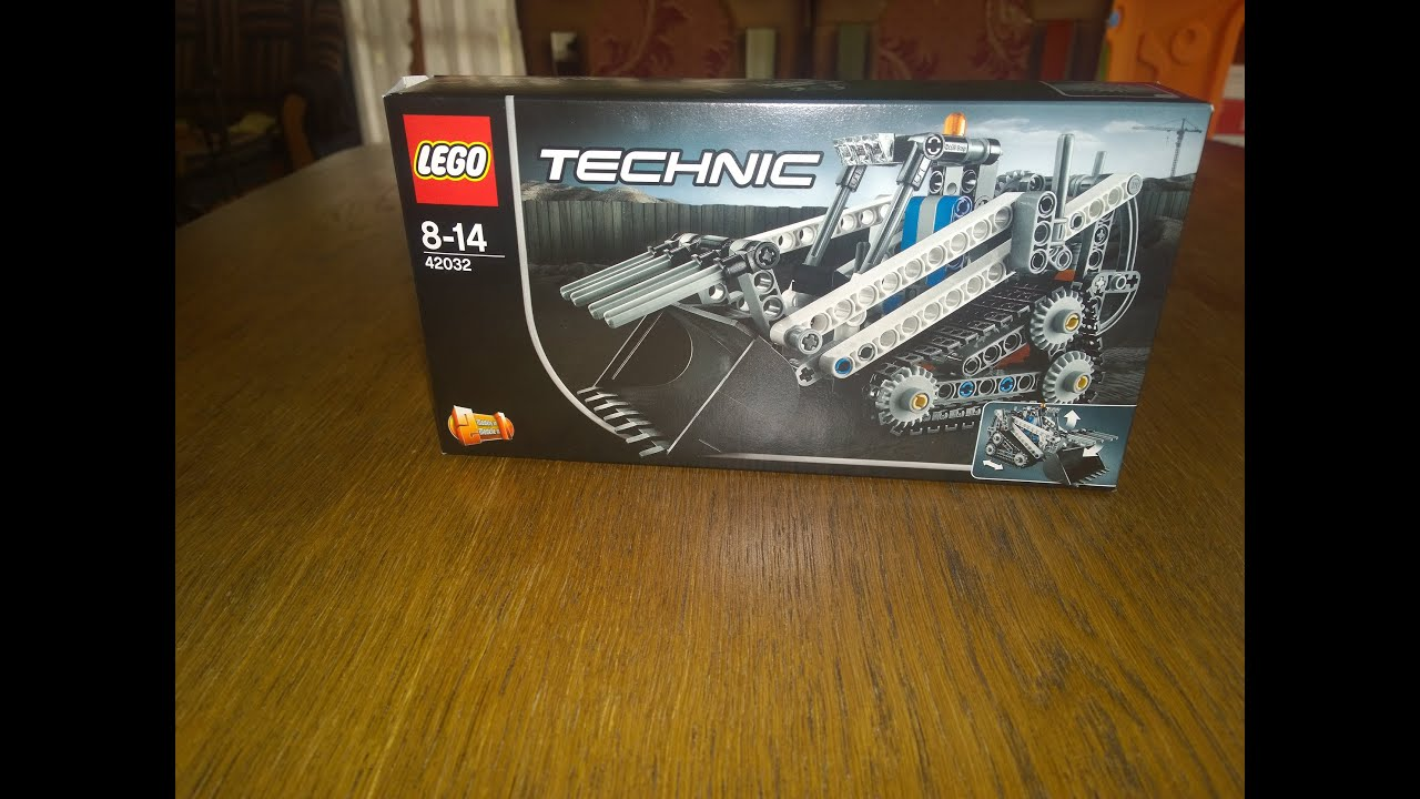 Lego Technic Bobcat >> Lego Technic 42032 Bobcat loader - YouTube