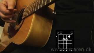 Guitarundervisning - This Is My Life - Kim Larsen - akkorder og fingerspil -Gasolin