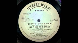 Freeez - Scratch goes my dub