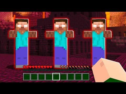 ENTREI NO PORTAL E FUI ATACADO POR CLONES DO HEROBRINE!! - Minecraft Herobrine #32