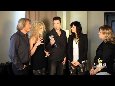 Stop 'N Chat With Little Big Town- Academy Of Country Music