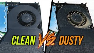 Should You Clean Out Your PS4? (Dusty vs Clean Sound Test)