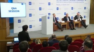 Лавров выступает с докладом об отношениях России и ЕС