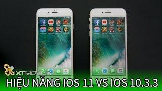 Video XTmobile | Speedtest iOS 11 vs iOS 10.3.3 trên iPhone 6 - Kết quả thật BẤT NGỜ !!! download MP3, 3GP, MP4, WEBM, AVI, FLV April 2018