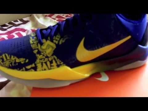 brand new b7ab0 e7f31 Nike Zoom Kobe V Ceremony 5 Rings