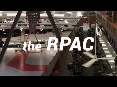 Tour of the Largest Collegiate Rec Center - Ohio State University RPAC (Daily Vlog)