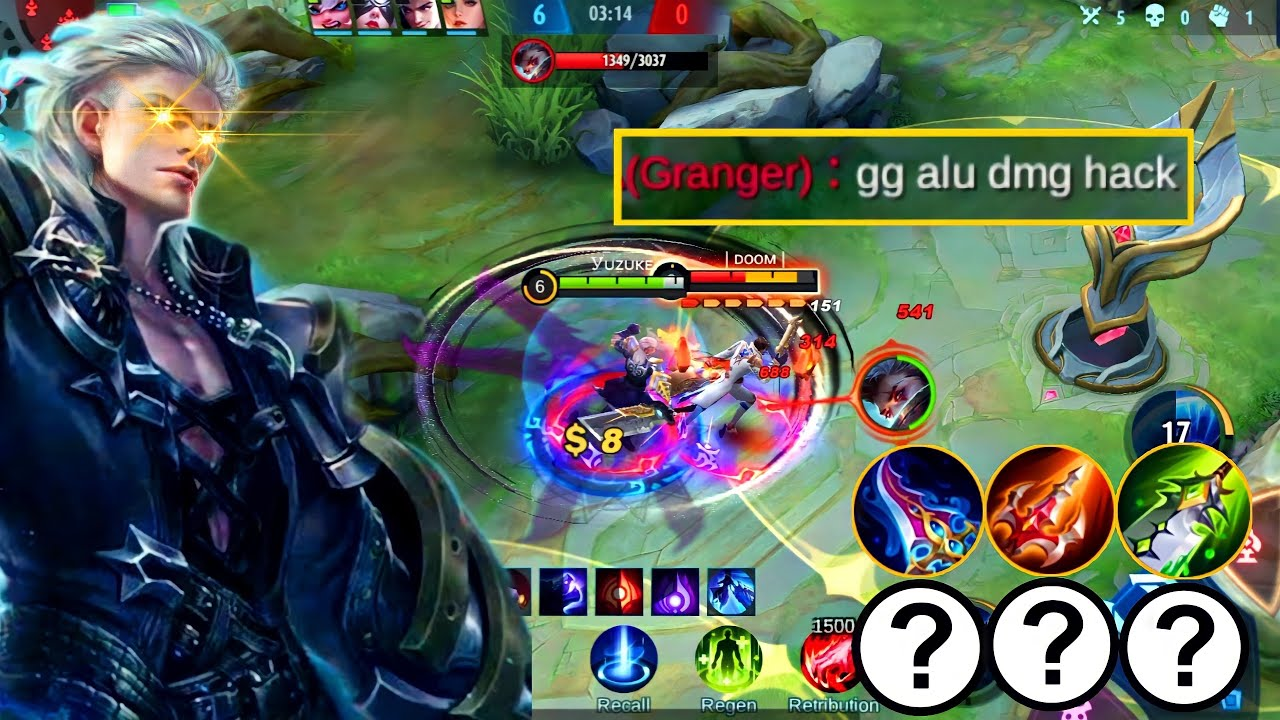 ALUCARD TOP GLOBAL SECRET BUILD YOU SHOULD KNOW | 1 HIT EVERYTHING AUTOWIN 2021 | MLBB