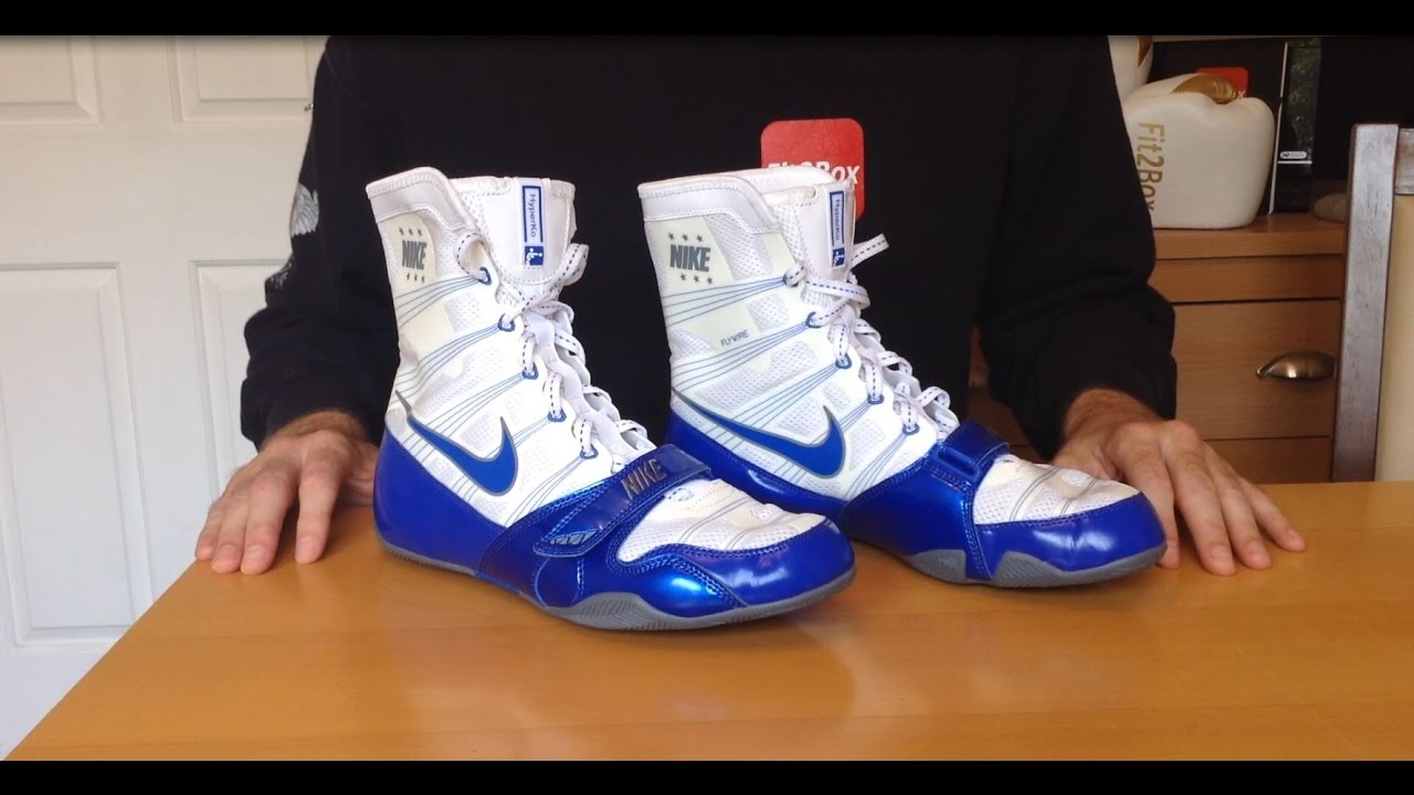 NEW Colourway! Nike Hyper KO White/Blue Boxing Boots Review