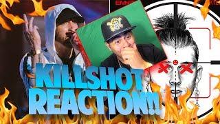 Baixar (UMG MUTED HALF MY REACTION) R.I.P Machine Gun Kelly!! Eminem - KILLSHOT (REACTION)