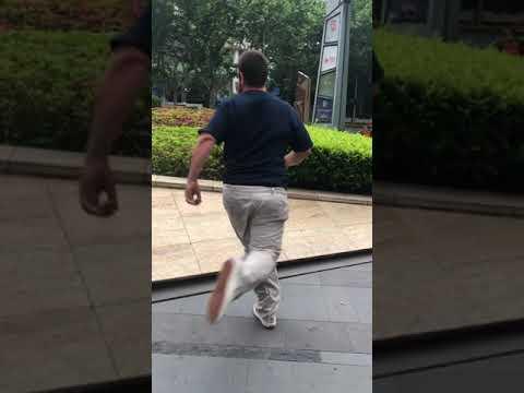 Scotty Conley in Shanghai