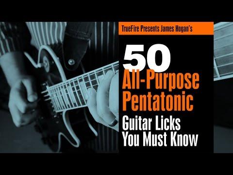 Pentatonic Licks - #26 Get