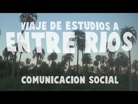 Viaje de Estudios a Entre Ríos - Comunicación Social 2015